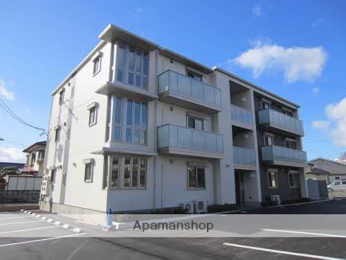 福島県福島市、卸町駅徒歩16分の築1年 3階建の賃貸マンション