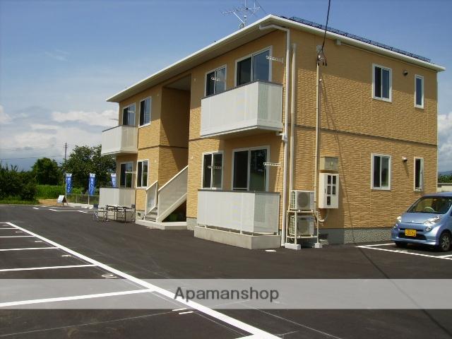 福島県伊達市の築8年 2階建の賃貸アパート