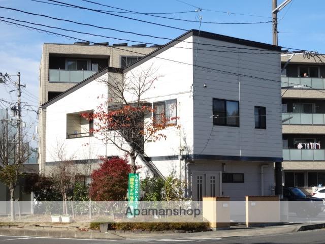 福島県福島市、美術館図書館前駅徒歩6分の築14年 2階建の賃貸アパート