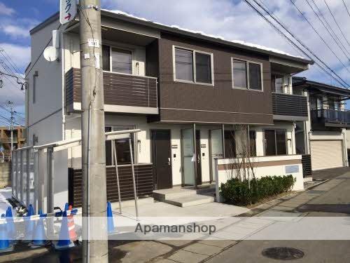 福島県福島市の築1年 2階建の賃貸アパート
