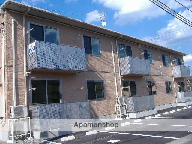 福島県福島市の築7年 2階建の賃貸アパート