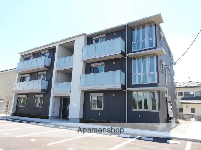 福島県福島市、卸町駅徒歩13分の築1年 3階建の賃貸マンション
