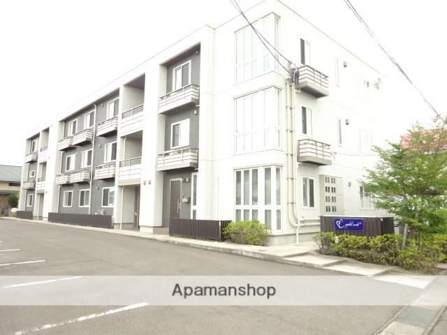 福島県福島市、笹谷駅徒歩15分の築1年 3階建の賃貸マンション