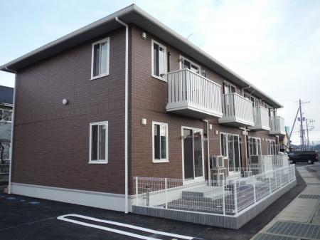 福島県福島市、福島学院前駅徒歩5分の新築 2階建の賃貸アパート