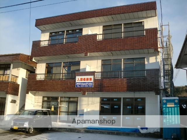 福島県伊達郡川俣町の築35年 3階建の賃貸アパート