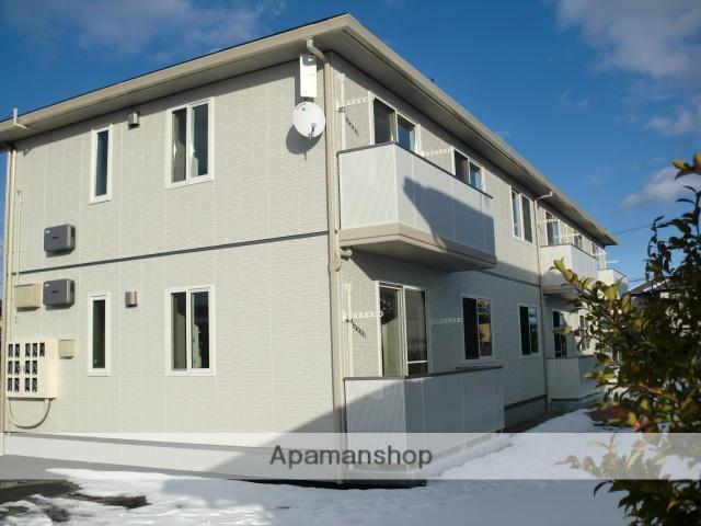 福島県伊達市、保原駅徒歩2分の築3年 2階建の賃貸アパート