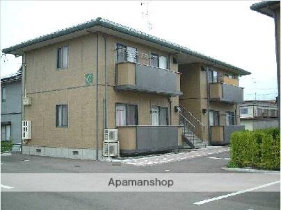 福島県伊達市の築16年 2階建の賃貸アパート