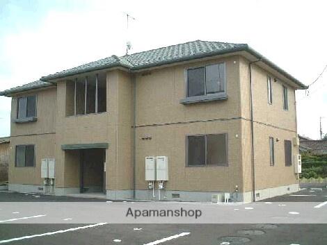 福島県伊達市の築14年 2階建の賃貸アパート