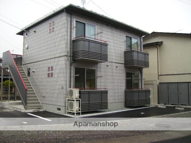 福島県福島市、岩代清水駅徒歩6分の築9年 2階建の賃貸アパート