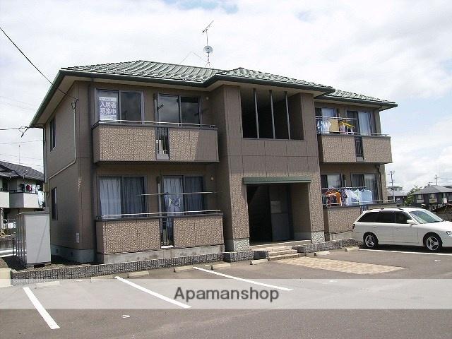 福島県福島市の築16年 2階建の賃貸アパート