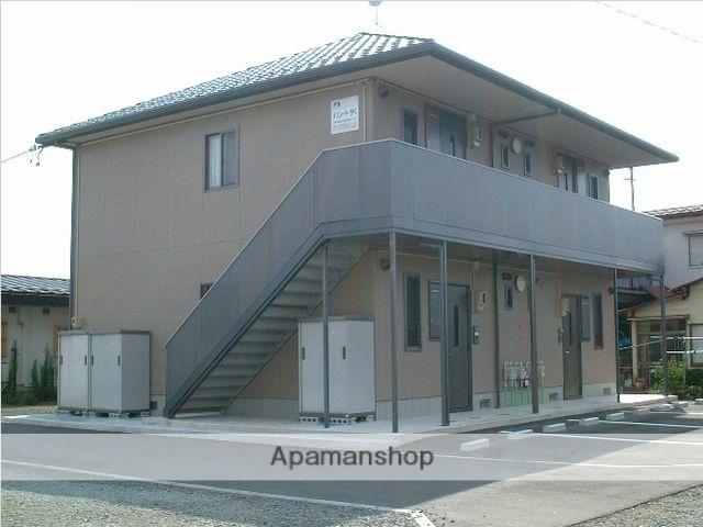 福島県福島市、医王寺前駅徒歩7分の築14年 2階建の賃貸アパート