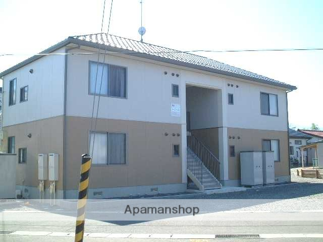 福島県福島市の築14年 2階建の賃貸アパート