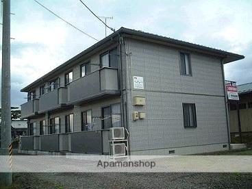 福島県福島市、卸町駅徒歩13分の築13年 2階建の賃貸アパート