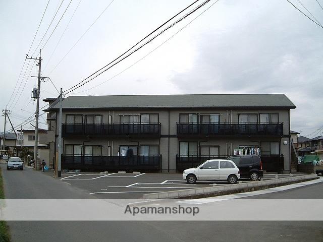福島県福島市、南福島駅徒歩10分の築17年 2階建の賃貸アパート