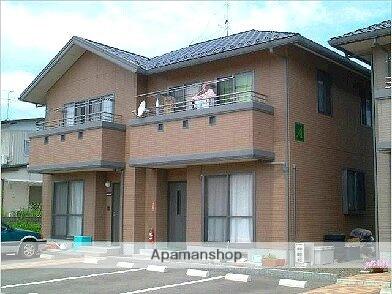 福島県福島市、桜水駅徒歩11分の築17年 2階建の賃貸アパート