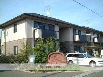 福島県福島市、桜水駅徒歩8分の築18年 2階建の賃貸アパート