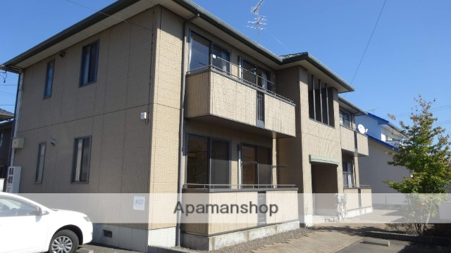 福島県福島市、瀬上駅徒歩3分の築16年 2階建の賃貸アパート