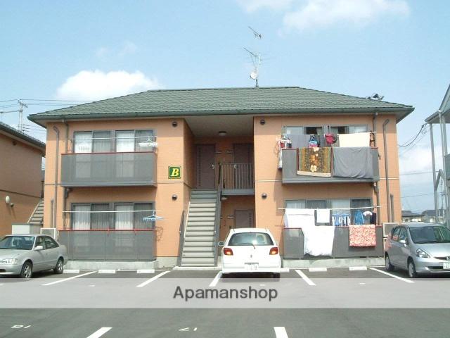 福島県福島市、福島学院前駅徒歩6分の築13年 2階建の賃貸アパート