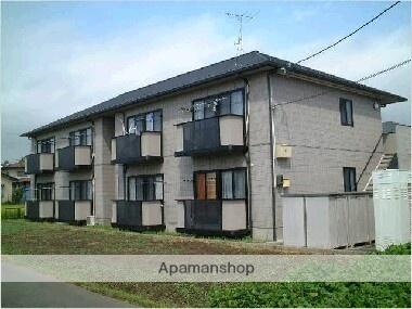 福島県福島市の築18年 2階建の賃貸アパート