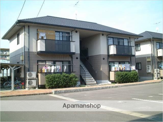 福島県福島市、笹谷駅徒歩3分の築18年 2階建の賃貸アパート