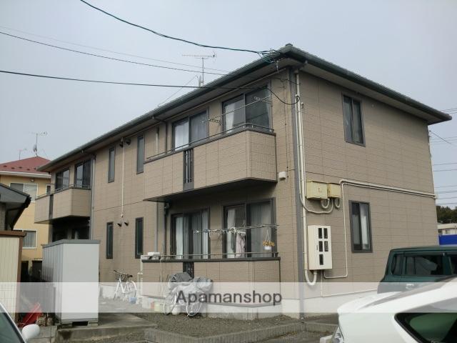 福島県福島市、卸町駅徒歩7分の築15年 2階建の賃貸アパート