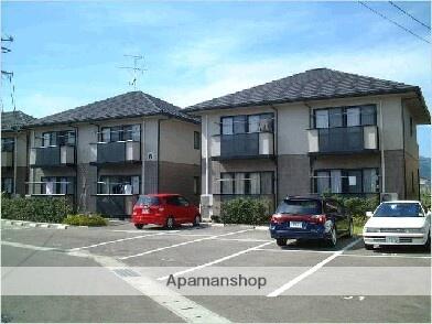 福島県福島市、瀬上駅徒歩8分の築18年 2階建の賃貸アパート