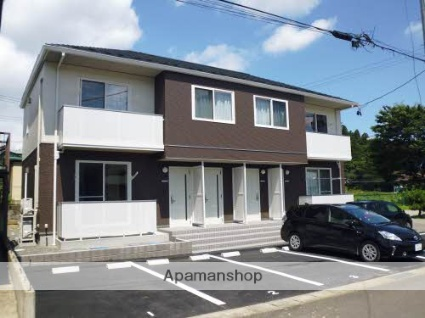 福島県二本松市、二本松駅徒歩20分の築3年 2階建の賃貸アパート