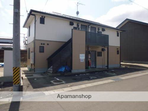 福島県福島市、松川駅徒歩6分の築19年 2階建の賃貸アパート