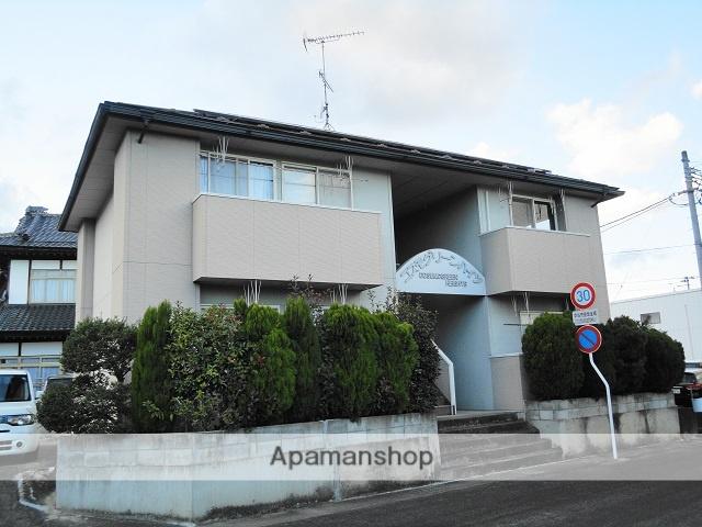 福島県二本松市、二本松駅徒歩20分の築19年 2階建の賃貸アパート