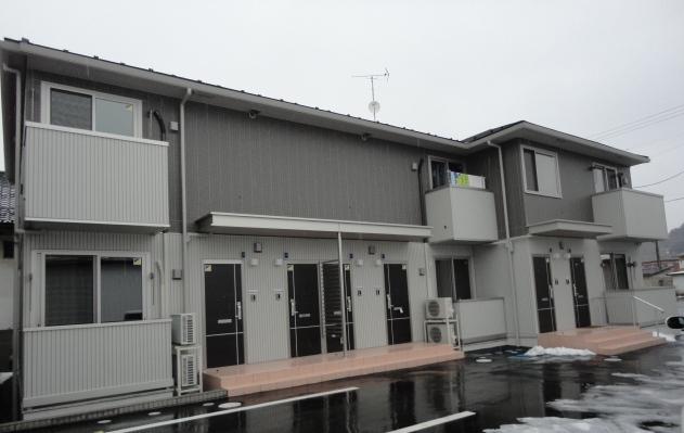 福島県二本松市、安達駅徒歩1分の築1年 2階建の賃貸アパート