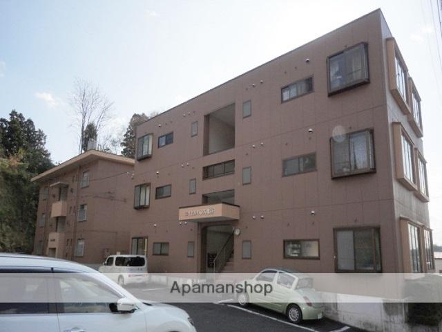 福島県二本松市、二本松駅徒歩15分の築22年 3階建の賃貸マンション