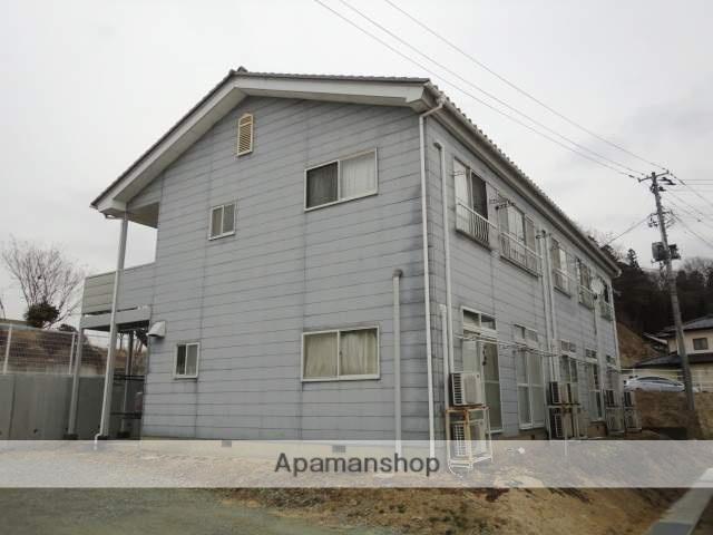 福島県二本松市、二本松駅徒歩35分の築25年 2階建の賃貸アパート