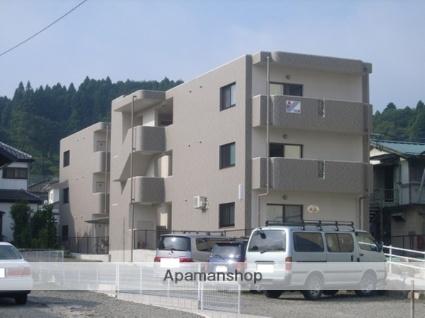 福島県二本松市、二本松駅徒歩25分の築6年 3階建の賃貸マンション