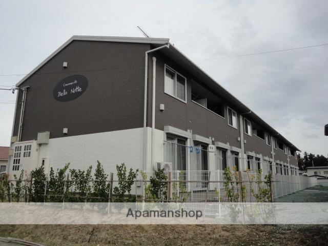 福島県福島市、松川駅徒歩14分の築5年 2階建の賃貸アパート