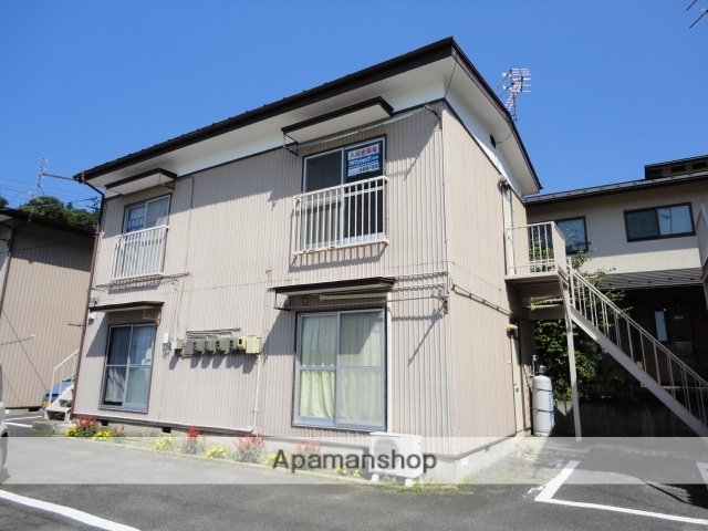 福島県二本松市、二本松駅徒歩15分の築39年 2階建の賃貸アパート