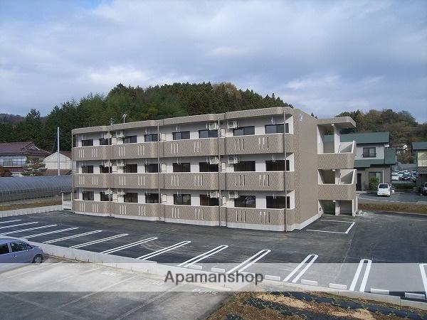 福島県二本松市、二本松駅徒歩23分の築4年 3階建の賃貸マンション