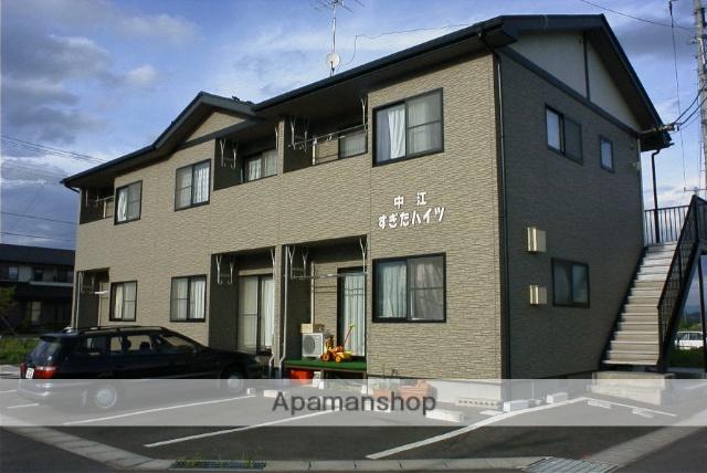 福島県二本松市、杉田駅徒歩10分の築15年 2階建の賃貸アパート