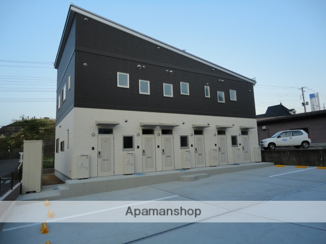 福島県二本松市、二本松駅徒歩13分の築2年 2階建の賃貸アパート
