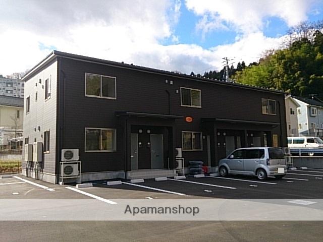 福島県二本松市、二本松駅徒歩22分の新築 2階建の賃貸アパート