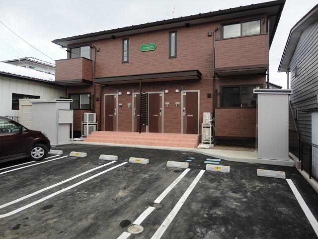 福島県二本松市、二本松駅徒歩6分の新築 2階建の賃貸アパート
