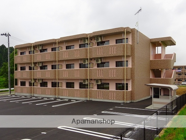 福島県二本松市、安達駅徒歩2分の新築 3階建の賃貸マンション