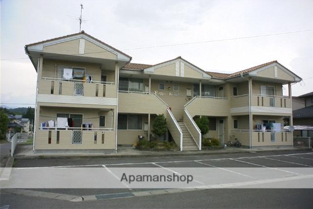 福島県二本松市、二本松駅徒歩20分の築25年 2階建の賃貸アパート