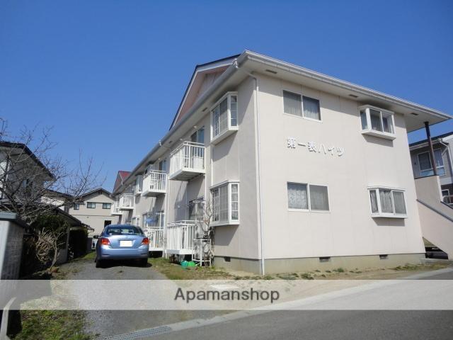 福島県二本松市、二本松駅徒歩25分の築23年 2階建の賃貸アパート