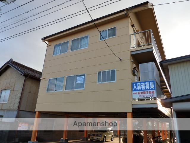 福島県二本松市、安達駅徒歩10分の築29年 3階建の賃貸アパート
