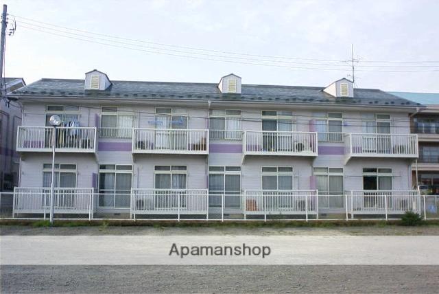 福島県二本松市、二本松駅徒歩25分の築24年 2階建の賃貸アパート
