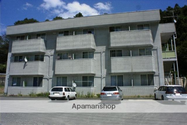 福島県二本松市、二本松駅徒歩30分の築21年 3階建の賃貸アパート