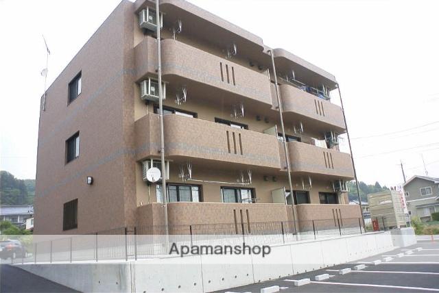 福島県二本松市、二本松駅徒歩30分の築11年 3階建の賃貸マンション