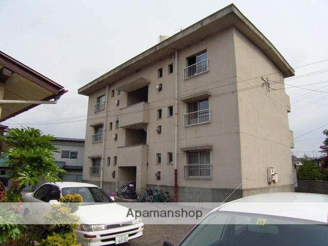 福島県二本松市、二本松駅徒歩15分の築40年 3階建の賃貸マンション