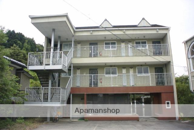福島県二本松市、二本松駅徒歩15分の築22年 3階建の賃貸アパート