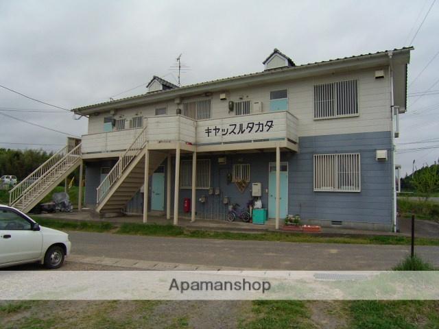 福島県二本松市、二本松駅徒歩25分の築25年 2階建の賃貸アパート